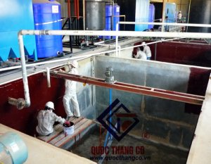 Waterproofing tanks & Waste water tank system